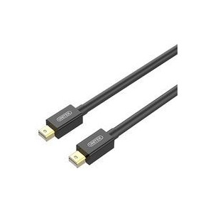 Unitek Y-C614BK 3m Mini DisplayPort Male to Mini DisplayPort Male Cable - Black