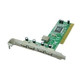 Lindy 51063 4+1 Port USB 2.0 PCI Card
