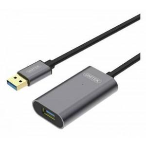 Unitek Y-3004 5m USB 3.0 Active Extension Cable Aluminium