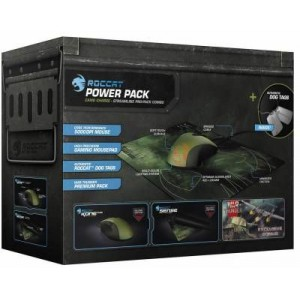 Roccat ROC-16-225 Military Bundle Camo Wired USB Mouse and Mouse Pad