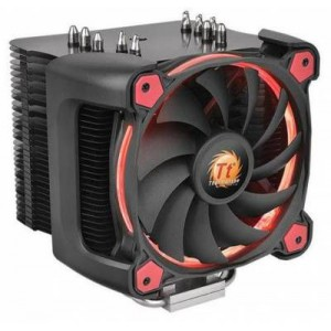 Thermaltake CL-P021-CA12RE-A Riing Silent 12 Pro Red CPU Cooler
