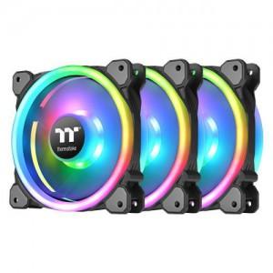 Thermaltake CL-F077-PL14SW-A Riing Trio 14 LED RGB Radiator Fan