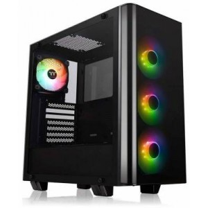 Thermaltake CA-1I3-00M1WN-05 View 21 Tempered Glass RGB Plus Edition ATX Mid Tower Case