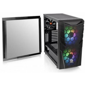 Thermaltake CA-1N3-00M1WN-00 Commander C32 Tempered Glass ATX Mid-Tower Chassis