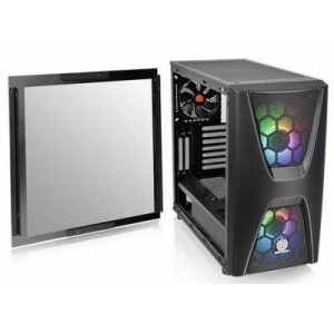 Thermaltake CA-1N5-00M1WN-00 Commander C34 Tempered Glass ATX Mid-Tower Chassis