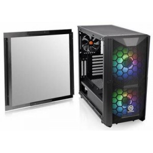 Thermaltake CA-1N6-00M1WN-00 Commander C35 Tempered Glass ATX Mid-Tower Chassis