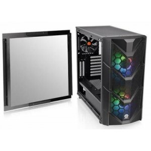 Thermaltake CA-1N7-00M1WN-00 Commander C36 Tempered Glass ATX Mid-Tower Chassis