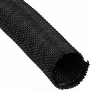 Techflex F6W1.00BK 1m Woven Split Wrap 25.4mm - Black