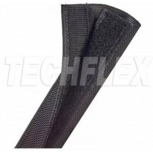 Techflex DWN1.00BK 1m Dura Wrap with Velcro 25.4mm - Black