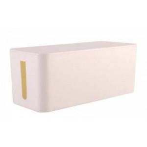 Lumi 0303PLM08  Cable Management Box - White (Large)