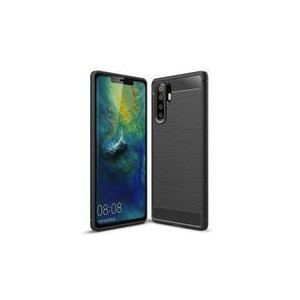 Tuff-Luv D3_154 Carbon Fibre Style Shockproof Case for Huawei P30 - Black