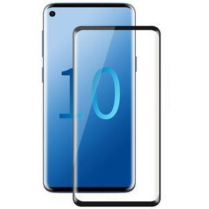 Tuff-Luv E2_190  3D Curved Tempered Glass Screen Protection for Samsung Galaxy S10E - Clear