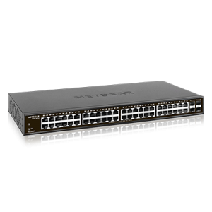 Netgear N.GS348T-100EUS S350 Series48-Port Gigabit Ethernet Smart Managed Pro Switch