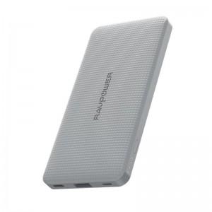 RAVPower RP-PB094-GR 10000mAh USB Type-C PD18W/QC3.0 Power Bank - Grey