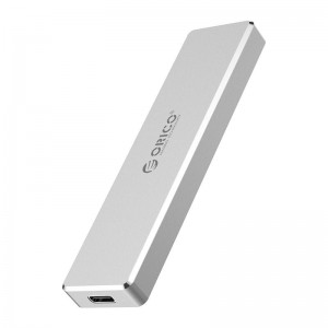 Orico PCM2-C3-SV M.2 NVME to USB3.1(Device Input) Gen-2 Type-C(Enclosure Side) SSD Enclosure (2TB Max) Aluminium