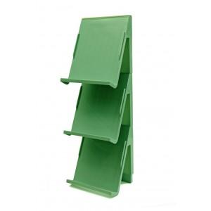 Fine Living - Stacking Shoe Organiser - 3pc - Mint