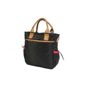 Nuovo - Diaper Bag - Black/Brown