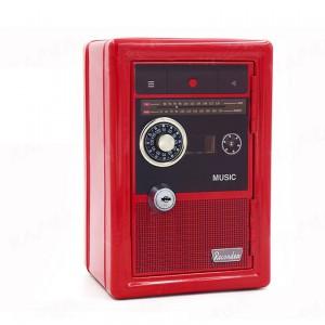 Retro Radio Safe - Red