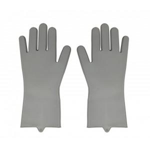 Silicone Kitchen Gloves - Grey