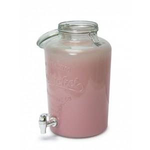F/L - Vivant Beverage dispenser - Pink Frosting