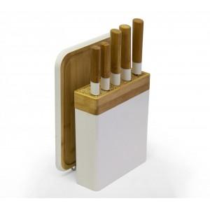 Knife Block Set - White