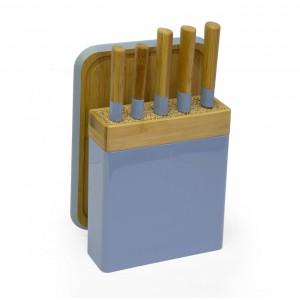 Knife Block Set - Blue