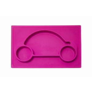 Car Feeding Mat - Pink