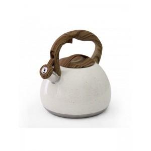 Fine Living Stove Top Kettle 2.8L - Matte White
