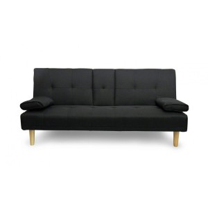 Fine Living - Isle Couch/Sleeper  - Black