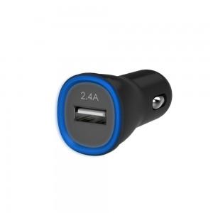 Kanex 2.4A Black USB Car Charger