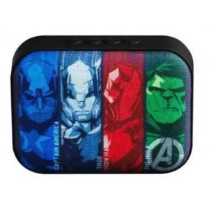 Marvel MV-1010-AV Small Bluetooth Speaker - Avengers-Boys