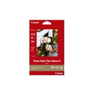 Canon 2311B018AA Photo Paper  PP-201 Glossy 20-Sheets
