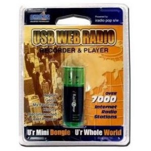 Chronos USBNETRADIO USB Internet Radio up to 13 000 Internet Radio Stations