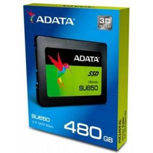 """Adata ASU650SS-480GT-R Ultimate SU650 480Gb 2.5"""" SATA3(6Gb/s) Solid State Drive"""