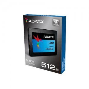 "Adata ASU800SS-512GT-C Ultimate SU800 512Gb 2.5"" SATA3(6Gb/s) Solid State Drive"
