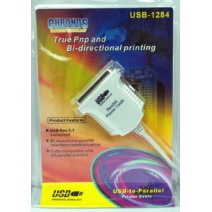 Chronos USBBF-1284 USB to Parallel Adapter