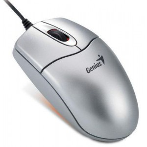 Genius 31011352100 NetScroll 311 Wired Laser Optical Mouse - Silver