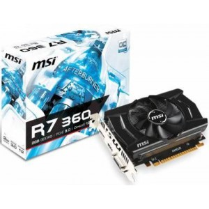 MSI Radeon R7 360 2GD5 OCV1 2048MB GDDR5 125Bit Graphics Card
