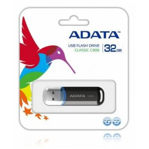 Adata AC906-32G-RBK 32Gb Black USB 2.0 Flash Drive