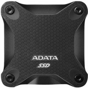 Adata EH-A240SD600Q-K Black 240Gb External 3Dnand/QLC Solid State Drive