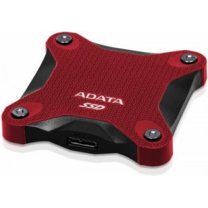 Adata EH-A480SD600Q-R Black & Red 480Gb External 3Dnand/QLC Solid State Drive