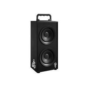 Pro Bass PR-3003-BK Boss Series 2.0 Double Tower Speaker With FM Radio- Black