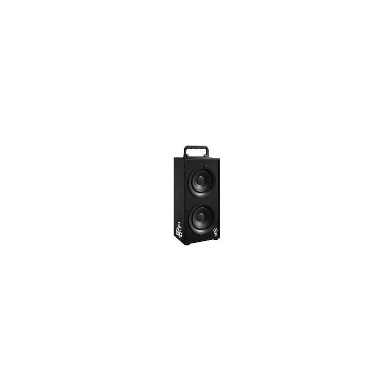 Pro Bass PR-3003-BK Boss Series 2 0 Double Tower Speaker With FM Radio-  Black