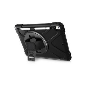 Tuff-Luv A1_670 Armour Case with Hand and Shoulder Strap for Apple iPad Air 10.5 Inch - Black (2019)