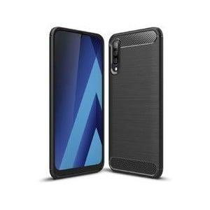 Tuff-Luv M846 Carbon Fibre Style Armour Case for Samsung Galaxy A70 - Black