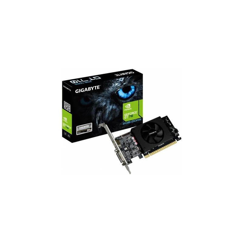 Gigabyte GV-N710D5-2GL nVidia GeForce GT710 2048MB DDR5 64-Bit Graphics Card