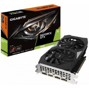 Gigabyte GV-N1660OC-6GD nVidia GeForce GTX 1660 OC - 6144MB GDDR5 192-Bit Graphics Card