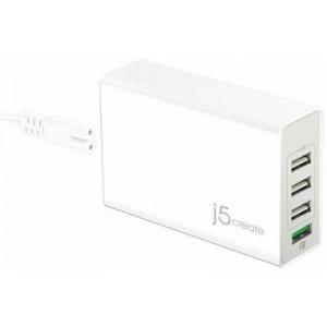 J5 Create JUP40 4-Port USB QC3.0 Super Charger