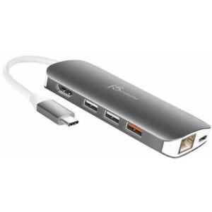 J5 Create DS-JCD384 USB-C Multi Adapter