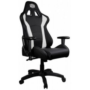 Cooler Master CMI-GCR1-2019W Caliber R1 Black & White Gaming Chair